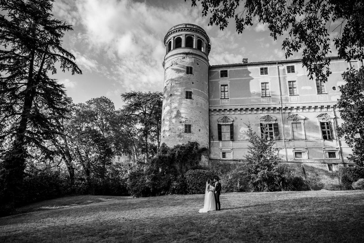Il castello per la festa di Matrimonio