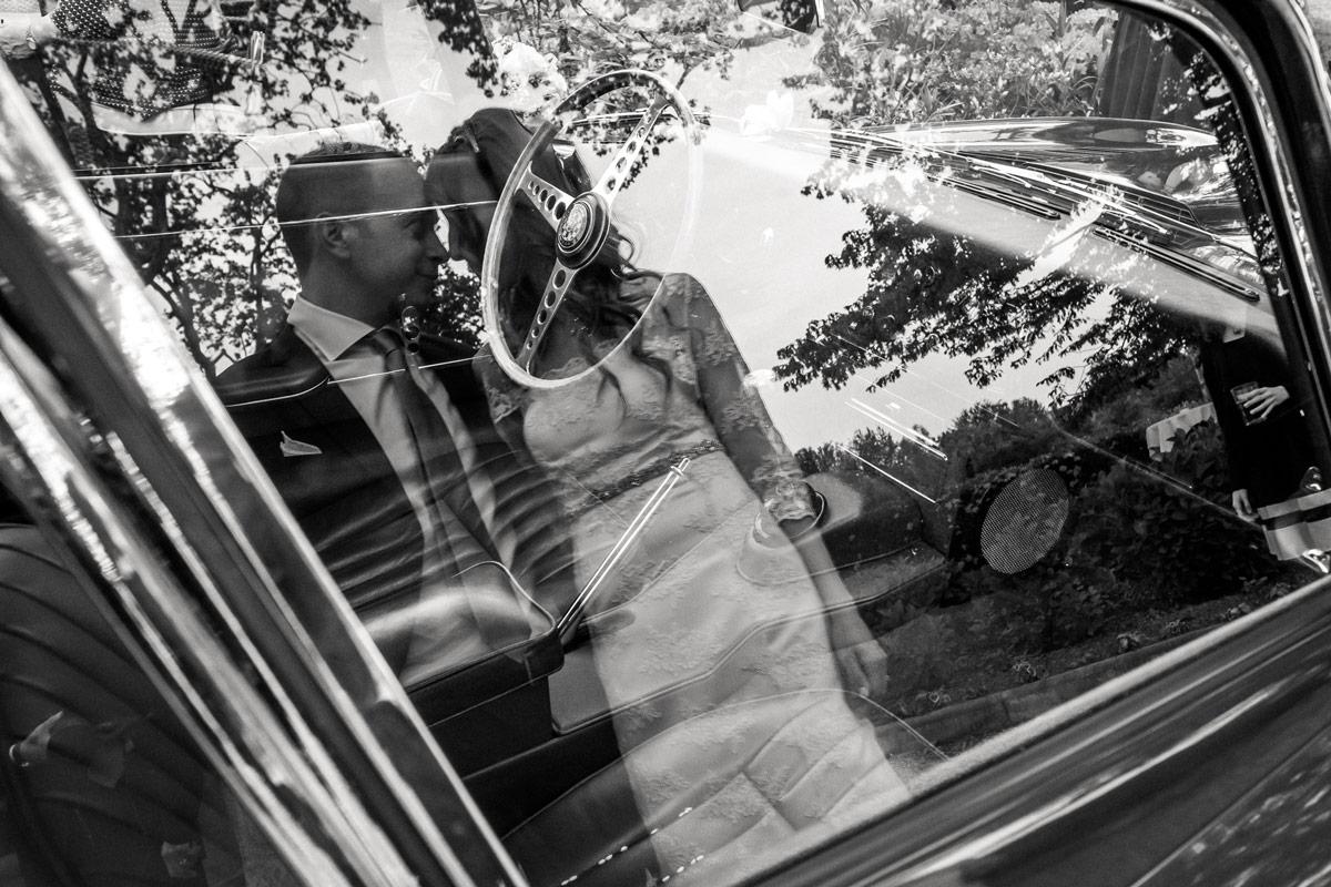 Riflesso degli sposi