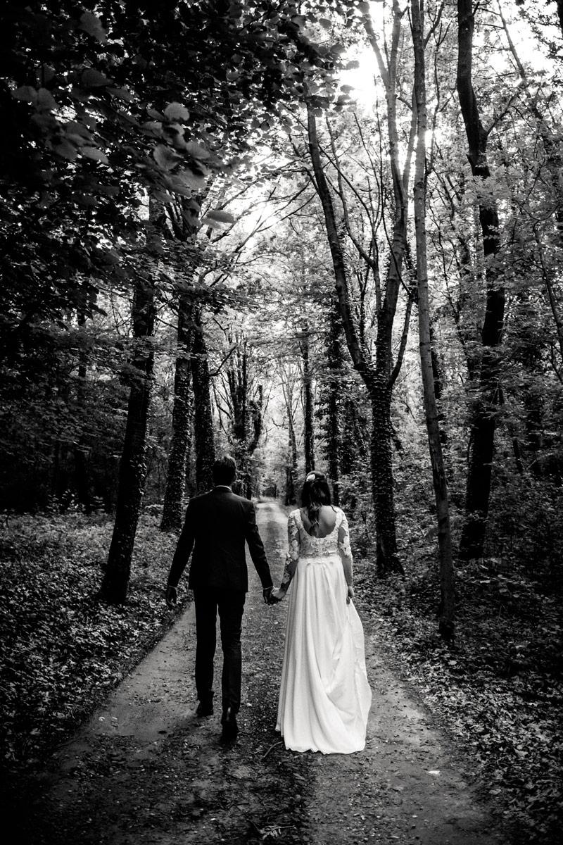 Sposi in un bosco