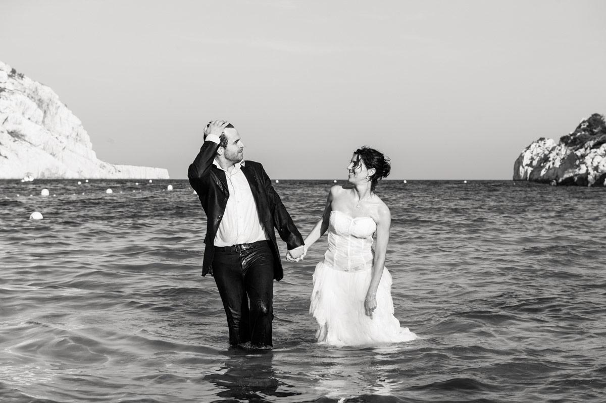 Sposi in mare