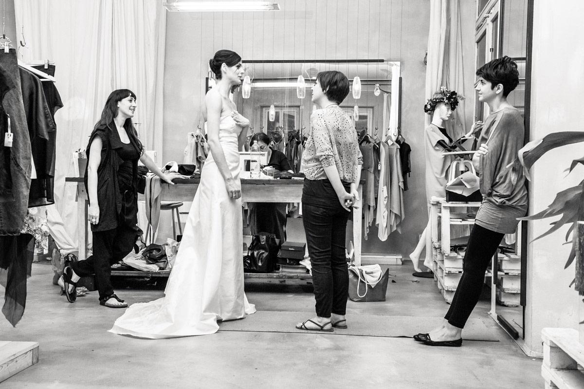 Prove abito da sposa